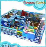 Спортивная площадка зрелищности малышей напольная с ярдом игры Trampoline напольным