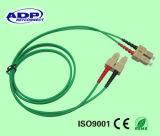 Goedkoop Sc van de Apparatuur van het Koord van het Flard van de Vezel Optisch aan APC LC de Kabel van het Koord van het Flard van de Optische Vezel van de Schakelaar