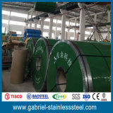 Tisco 316 316L laminó precio de la bobina del acero inoxidable por tonelada