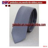 Cadeau de vacances de fête de Noël de relation étroite maigre en soie de cravate de cadeau de vacances le meilleur (B8008)