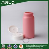 150ml 5ozのタルカムパウダーのびんのピンクのプラスチックびんのフリップ上の帽子の赤ん坊のスキンケアの粉のびんが付いている広い口の粉のシェーカーの瓶