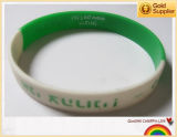 Wristband вахты силикона логоса печатание Cmyk для выдвиженческого (YB-SW-39)