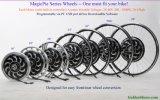 [بلوتووث] مهايئة! [18ينش] [1000و] سحريّة فطيرة 5 محرّك عجلة, قابل للبرمجة وتجديديّ