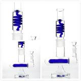 Glaspfeife-Wasser-Rohr mit grosser Spirale