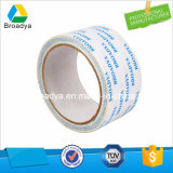 Cinta adhesiva del tejido bajo solvente lateral doble de la tela (DTS10G-08)