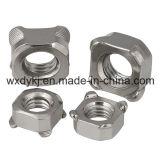 Noix carrée de soudure de l'acier inoxydable 304 DIN 928