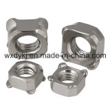 중국 스테인리스 나사 304 DIN 928에서 용접 사각 용접 견과 공장
