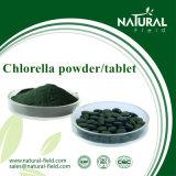 工場100%自然な最上質のクロレラの粉