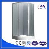 Piezas de aluminio superventas del marco de puerta de la ducha