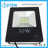 Luces de inundación de IP66 LED 30W, reflector de aluminio 10W-400W del LED disponible