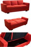 De Stof Sofabed van Trible met Grote Doos voor het Meubilair van de Woonkamer