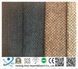 Material de poliéster 100% Flocado Tecido de móveis de Chenila Tecido de tecido de veludo em relevo de veludo liso