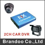 Mini cartão DVR 2CH mini Mdvr do SD