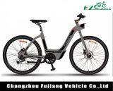 Bicyclette du femme E de modèle neuf de Changzhou avec la batterie Li-ion de Samsung