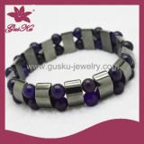 Braccialetto in rilievo Jewellry (2015 Htb-093) dell'ematite