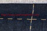 Tecido de tecido jacquard com tecidos quadrados para camisa de vestuário