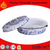 Cuoco ovale medio degli apparecchi dell'articolo da cucina del girarrosto dello smalto