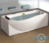 Forma Sanitario acrílico rectange bañera de masaje (BT-A1007)
