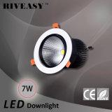 7W Die-Casting 알루미늄 LED 가벼운 Ce&RoHS LED 스포트라이트 옥수수 속 LED Ceilinglight