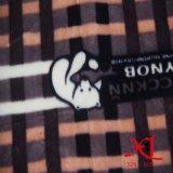 Flanell-Gewebe für Pyjamas/Baumwollflanell/aufgetragenes Gewebe