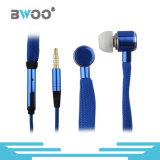 Auriculares estereofónicos do fone de ouvido do auscultadores de Handfree do laço do universal 3.5mm