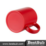 11oz de Veranderende Mokken van de rode Kleur (B2CB-04FR)