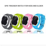 Le GPS badine la montre de traqueur avec le SOS, Pedometer, la transmission bi-directionnelle, rail en temps réel pour des enfants