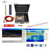 1개의 단추 지하 물 측정기로 Pqwt-Tc300 Anti-Interference 자동적인 지도로 나타내기
