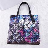 小型の星明かりの空パターン斜方形PUの女性袋(A077-1)