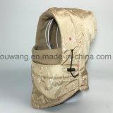 Pasamontañas impermeable de la máscara de esquí de la motocicleta de Camo del invierno con la guarnición del paño grueso y suave