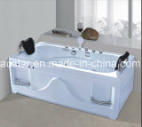 1800mm Rectangle Corner Massage Bathtub SPA met Ce RoHS voor 2 People (bij-0777)
