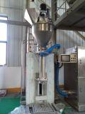 Máquina de ensacar del polvo de la semilla de sésamo con la máquina del transportador y de la soldadura