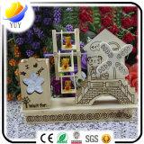Коробка нот счастливого времени симпатичная вращаясь деревянная для украшения