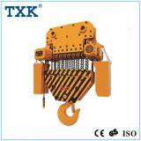 Offre de Txk élévateur à chaînes électrique de 50 tonnes avec le crochet fixe de suspension