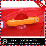 Cubierta anaranjada material de la maneta de puerta del estilo del ABS del accesorio auto para el modelo renegado (4PCS/SET)