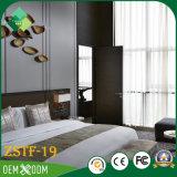 Indien-modernes Art-Teakholz-Hotel-Möbel-Schlafzimmer-Set (ZSTF-19)