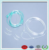 Calidad excelente de 15fr a la cánula nasal disponible del oxígeno del grado médico de 18 francos para el paciente