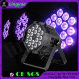 18X15W 5 in 1 PARITÀ della discoteca della fase del LED può illuminarsi