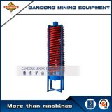 Concentratore di spirale dell'attrezzatura mineraria del minerale metallifero di alta efficienza