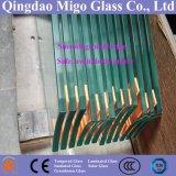 12mm Vlak Duidelijk Gehard glas met vlak Opgepoetste Rand