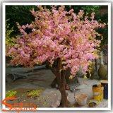 Árbol artificial del flor de cereza para la decoración de la boda
