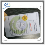 Carte de PVC de qualité des produits