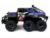 28281505-Velocity brinca gigahertz 1-10 RTR off-Road do caminhão 2.4 do vagão 6X6 RC da velocidade