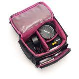 Caisse photographique confortable d'appareil-photo de sac à main de mode d'épaule populaire