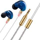 Auriculares estéreos del deporte del programa piloto del oído del en-Oído dinámico dual del gancho de leva