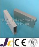 Tube carré en aluminium, tubes carrés en aluminium personnalisés (JC-W-10078)