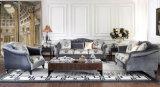 Canapé en tissu / canapé en bois pour meubles de salon