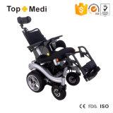 Fauteuil roulant confortable réglable d'énergie électrique de portée de cornière de portée de mode