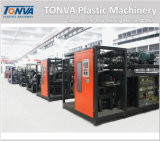 Tonva 1L kleine Flaschen-Plastikextruder-Blasformen-Maschinerie