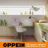 Oppein umweltfreundliche kundenspezifische Kind-Möbel-Kind-Schlafzimmer-Möbel eingestellt (OP16-KID01)